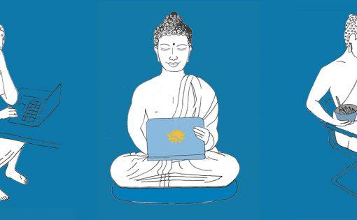 Thumbnail voor Mindful werken? Lees het boek Boeddha's Business