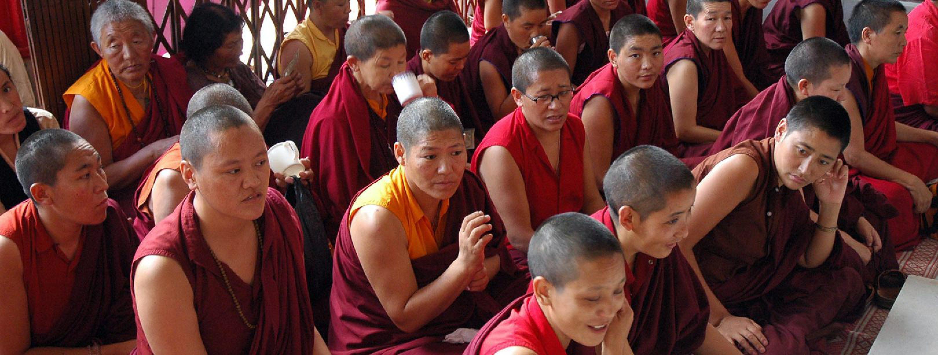 Positie vrouwen klooster