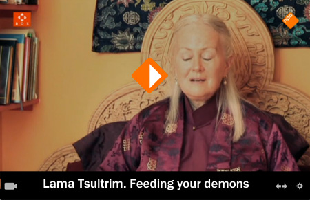 Lama Tsultrim. Feeding your demons