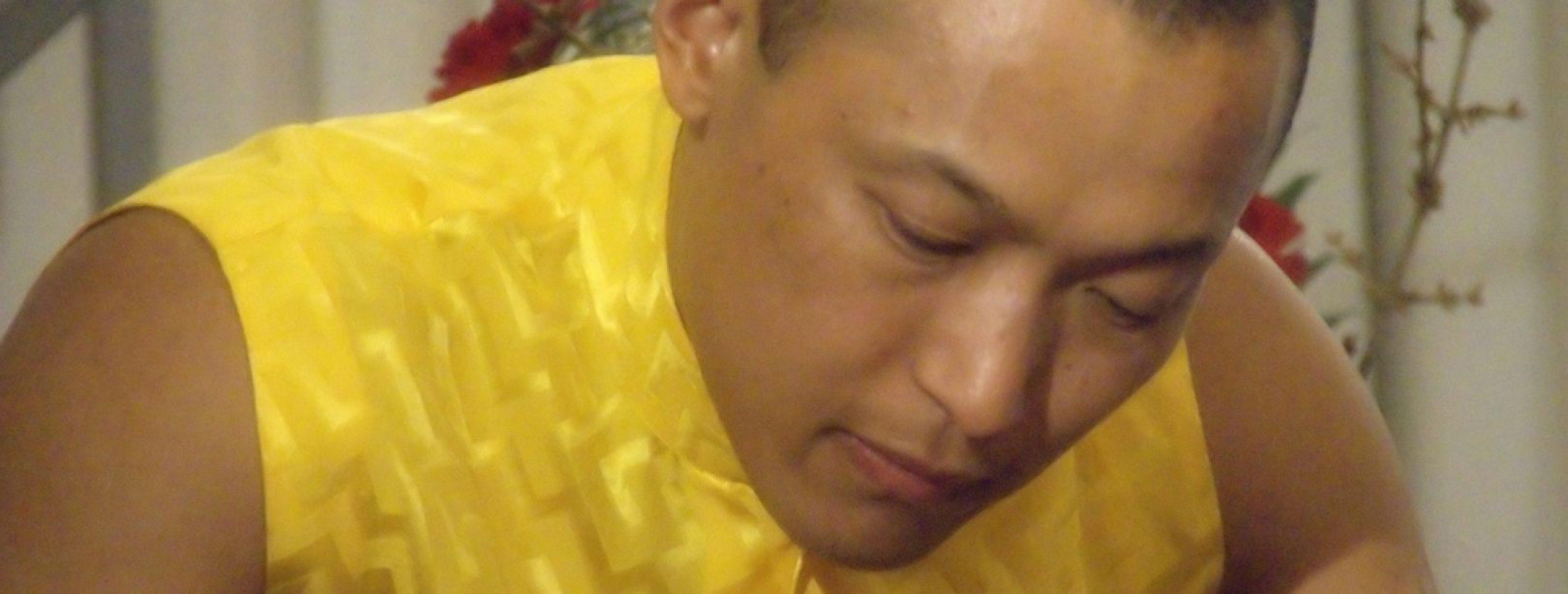 Sakyong Mipham treedt af