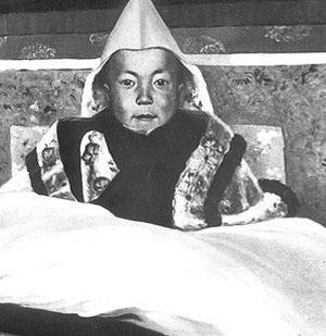 dalai lama young