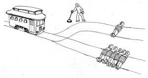 trolley problem boeddhisme