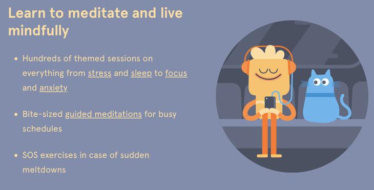 populaire meditatie apps Headspace