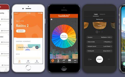 Thumbnail voor Populaire meditatie apps
