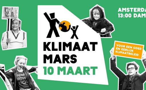 Thumbnail voor Boeddhistisch blok tijdens Klimaatmars zondag 10 maart