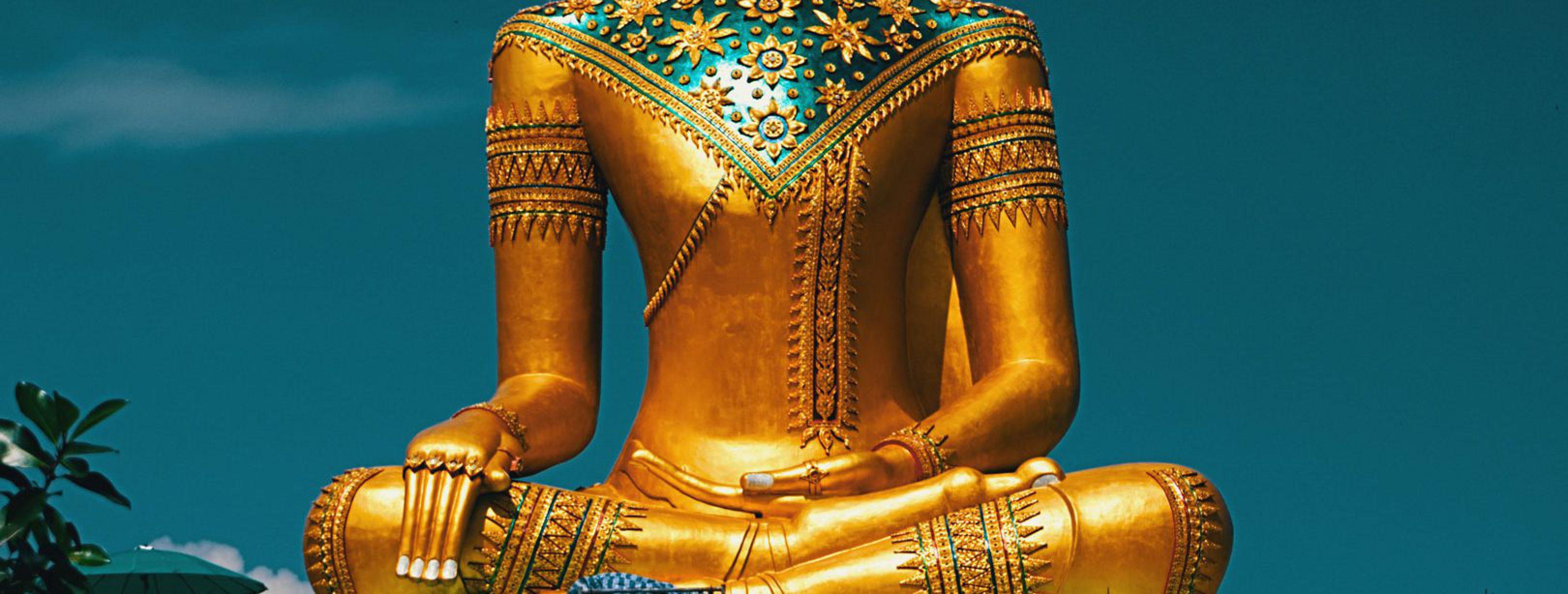 groene boeddha