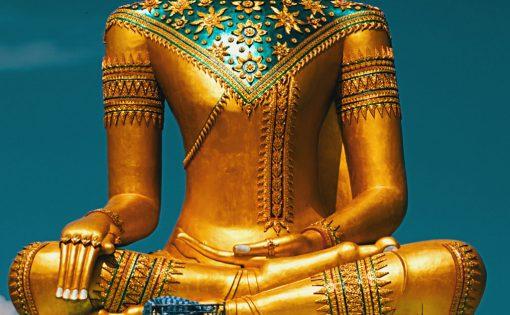 Thumbnail voor Een groene Boeddha: Alles brandt