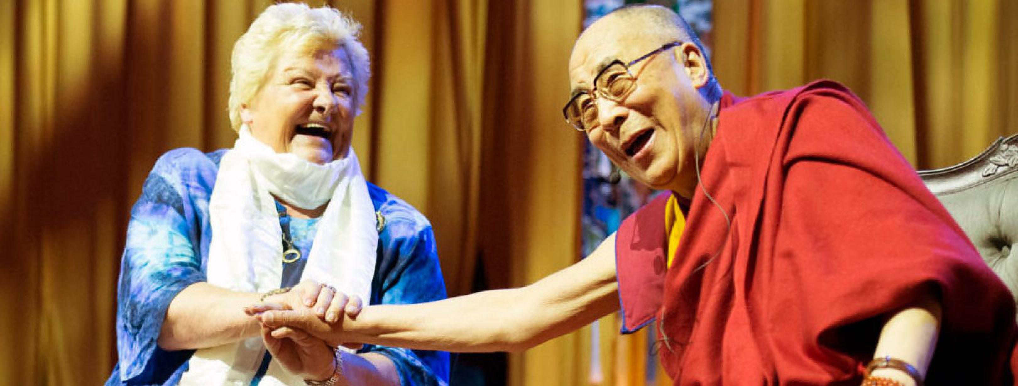 Erica Terpstra en dalai lama