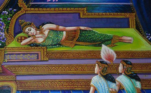 Thumbnail voor Uitspraken van de Boeddha: het luizenleven van een monnik