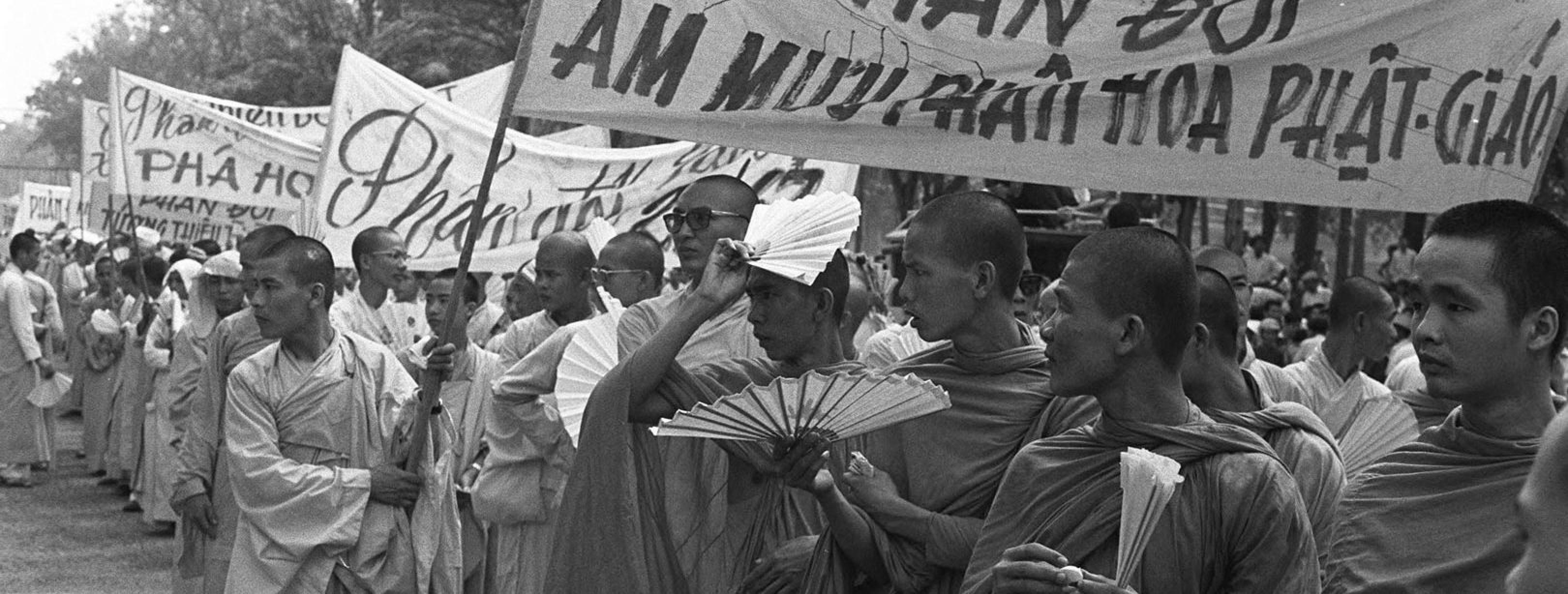 Sociaal activisme door boeddhisten