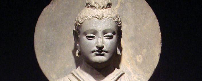 Gandhara Boeddha, 1e - 2e eeuw CE. Nationaal museum Tokyo