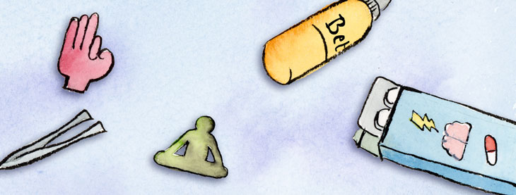 de drie vergiften