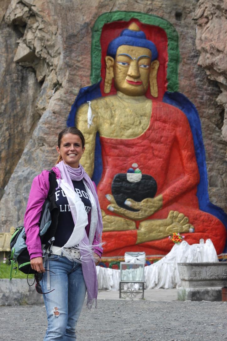 Didie Schackman in Tibet in 2010