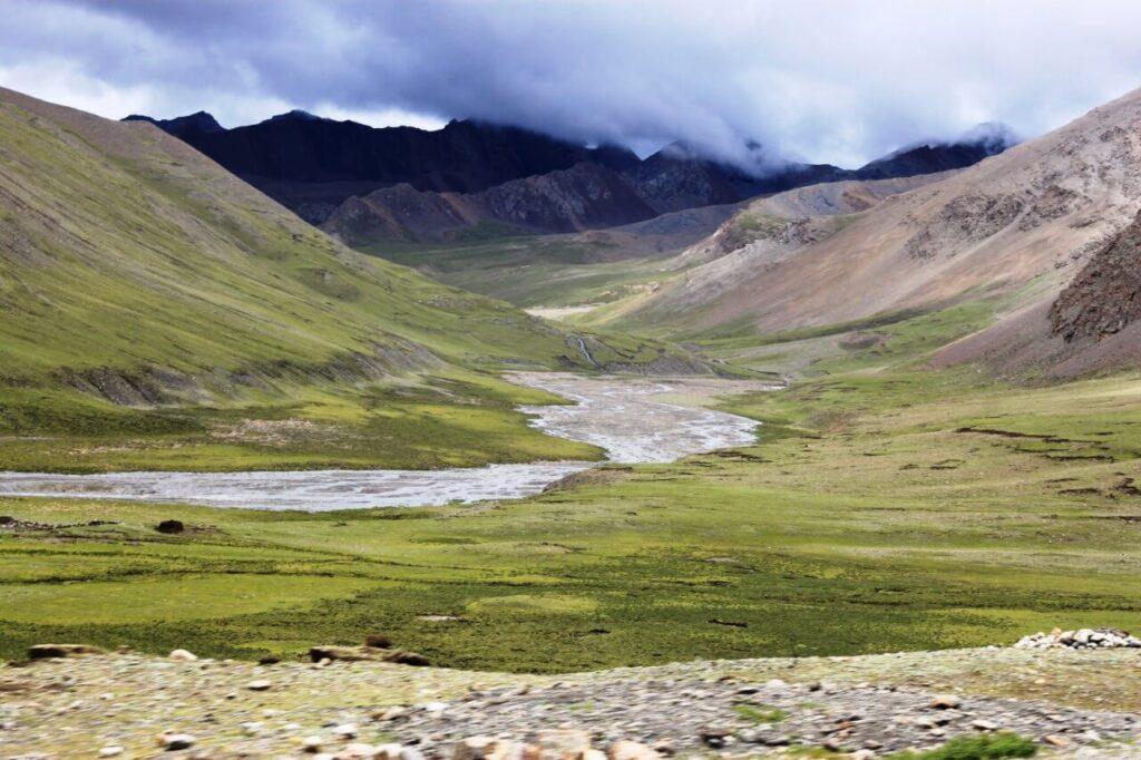 Het Tibetaanse landschap - Fotograaf Didie Schackman