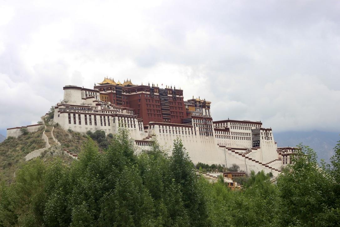 Potala paleis van de Dalai Lama in Tibet - Fotograaf Didie Schackman