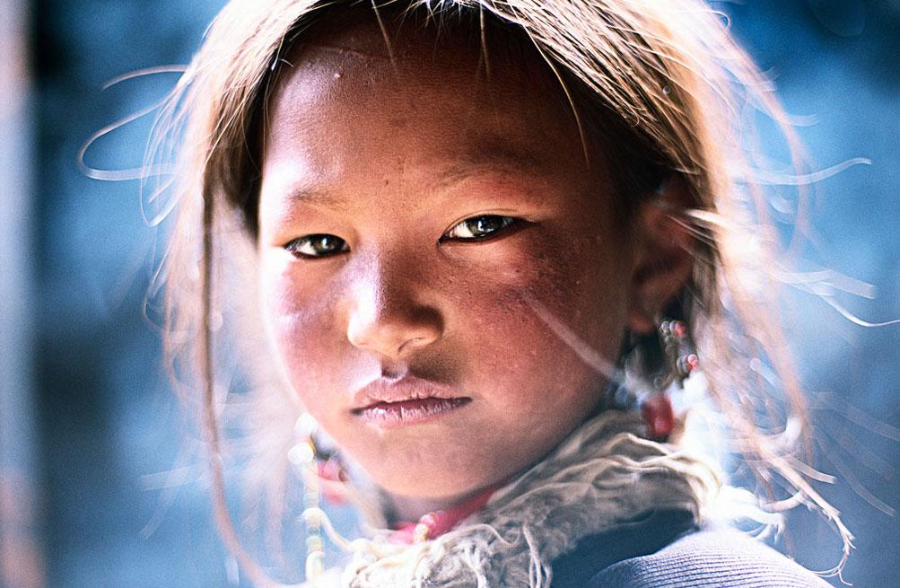 Tibetaanse portretten van fotograaf Frederic Lemalet