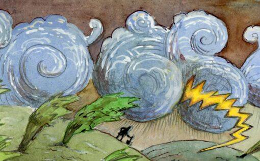 Thumbnail voor Zen weekkalender: Kaboem! Donderdag is een donderslag