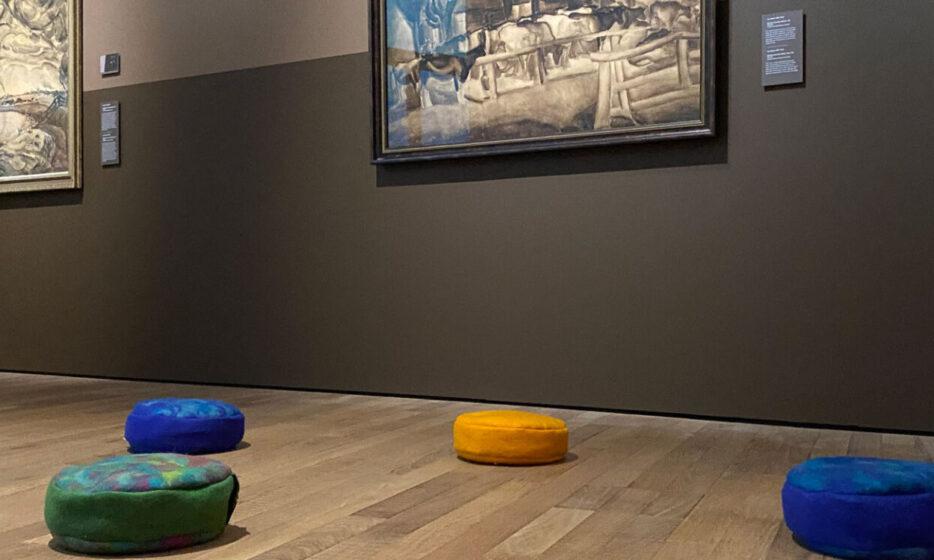 Mindful kijken naar kunst: als molens streepjes worden